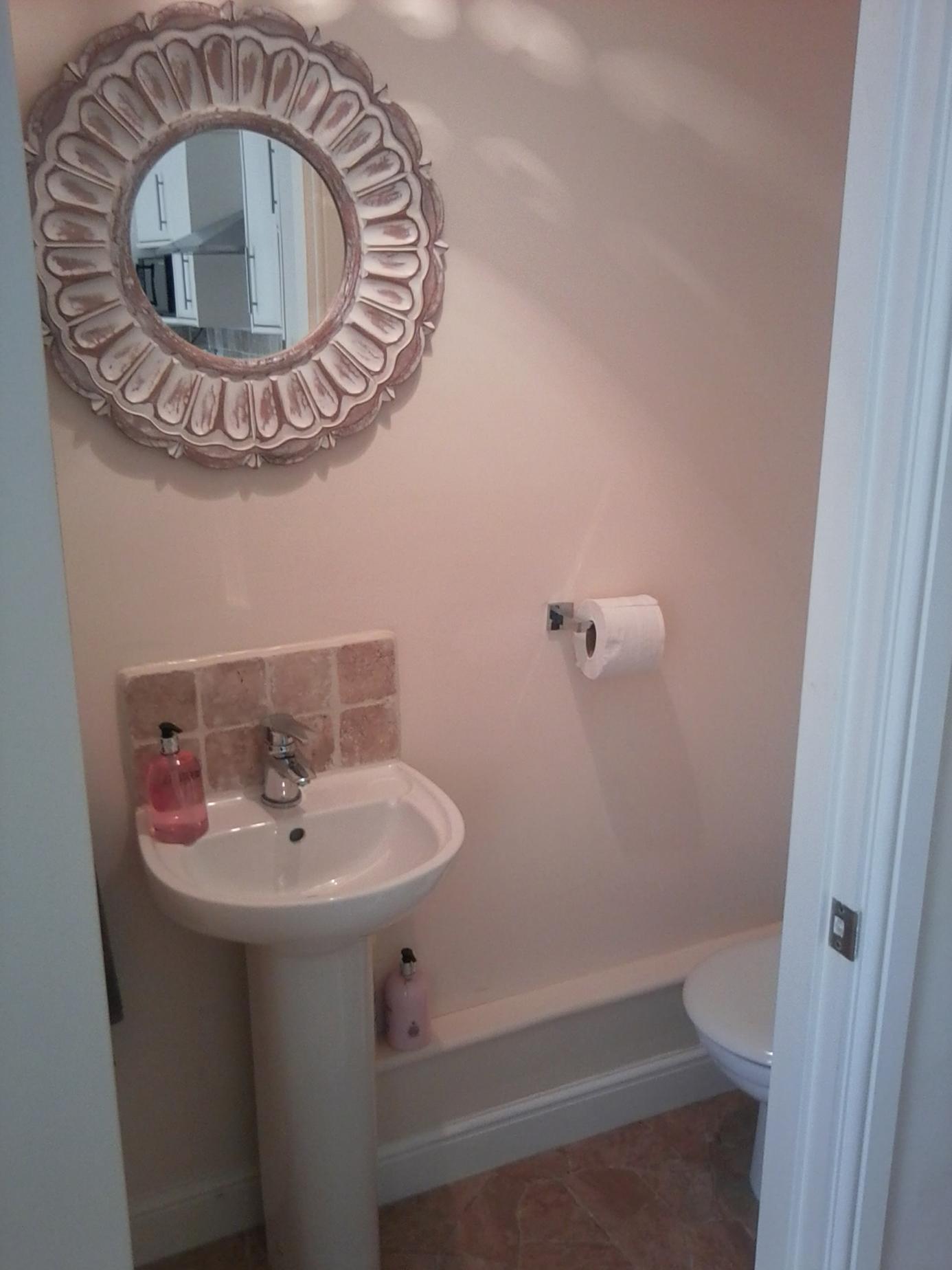 Cottage Bathroom Mirror