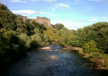 Richmond Castle and the Swale