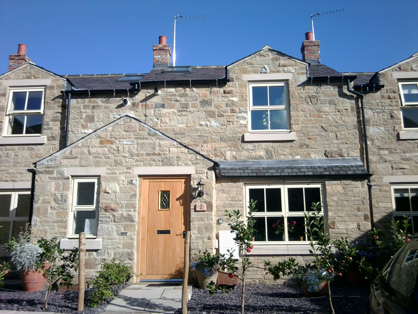 Holiday cottage with parking