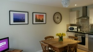 Prints kindly supplied by Guy Carpenter adorn the walls of Little Cobblestone